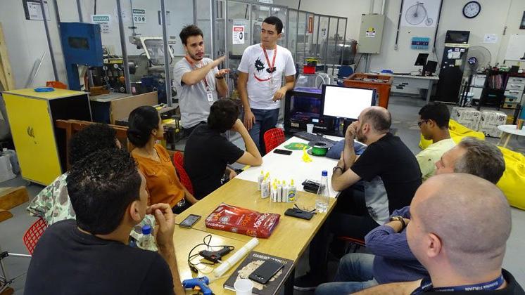 Laboratório Aberto do SENAI recebe vencedores do Grand Prix de Inovação
