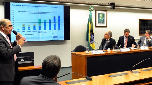 Indústria apoia governo nas negociações com União Europeia, Efta e México