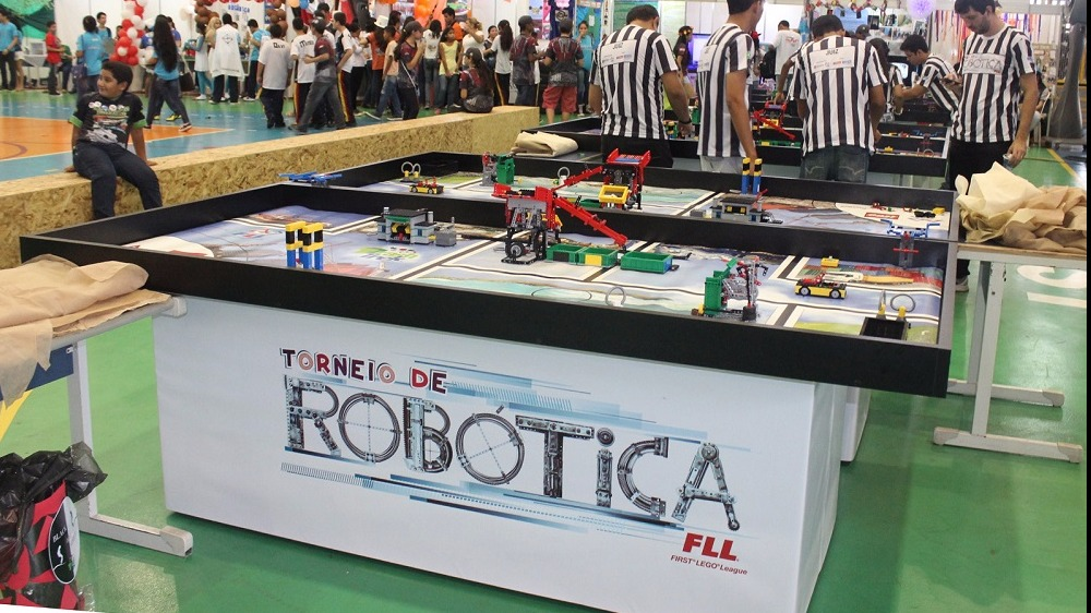 Inscrições abertas para o maior torneio de robótica do Brasil