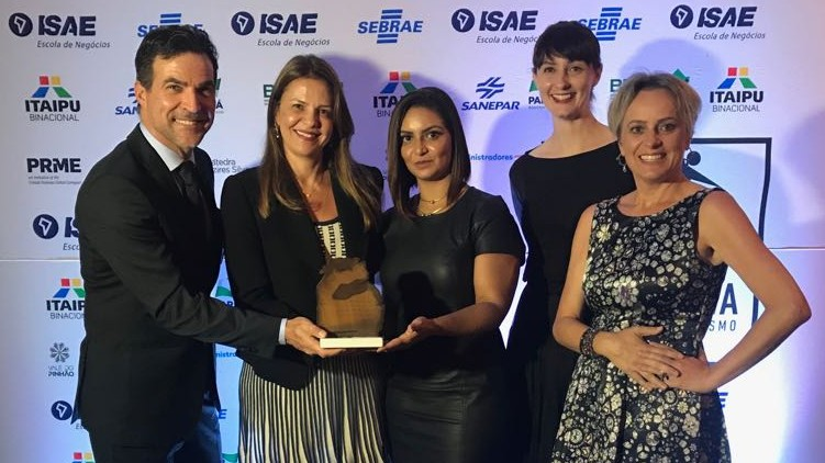 SENAI do Distrito Federal recebe prêmio nacional de empreendedorismo