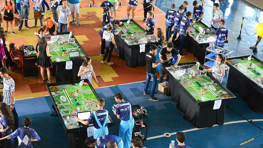 Cinco equipes representarão Goiás no Torneio Nacional de Robótica