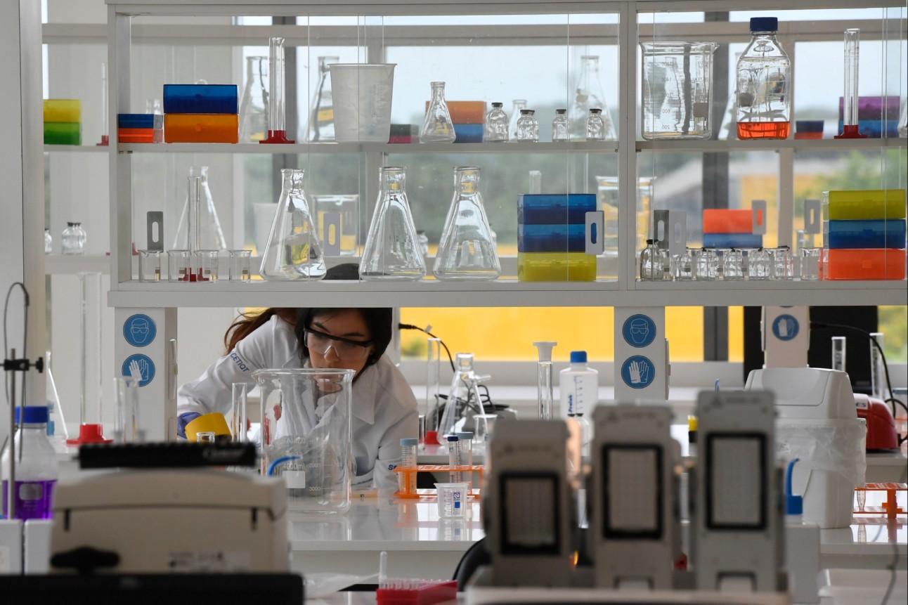 Pesquisadora do Instituto SENAI de Inovação em Biossintéticos, no Rio de Janeiro