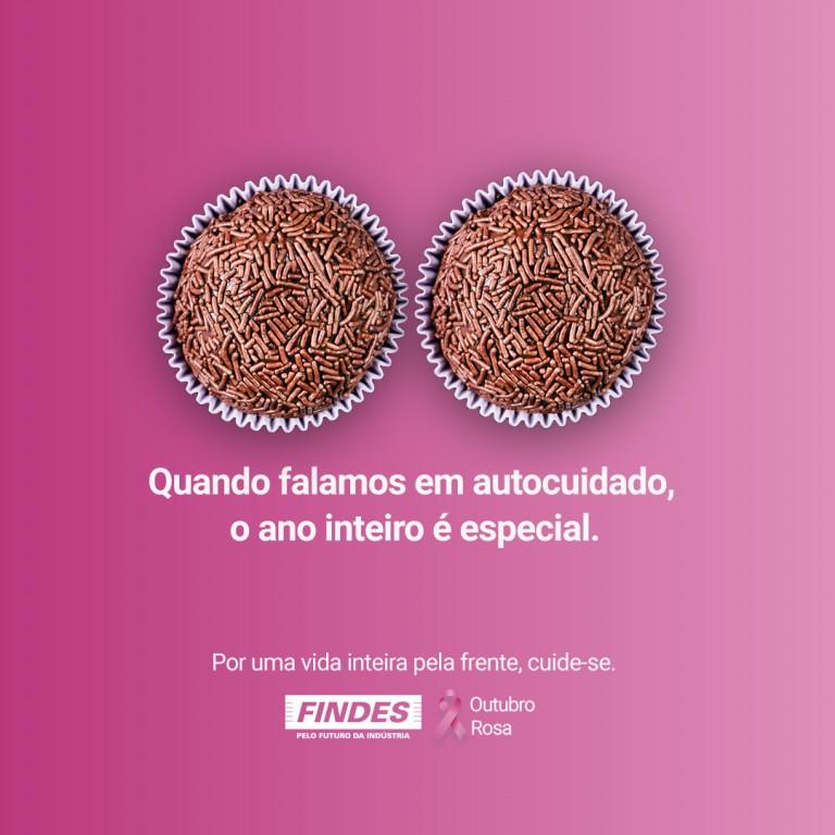 arte: campanha outubro rosa