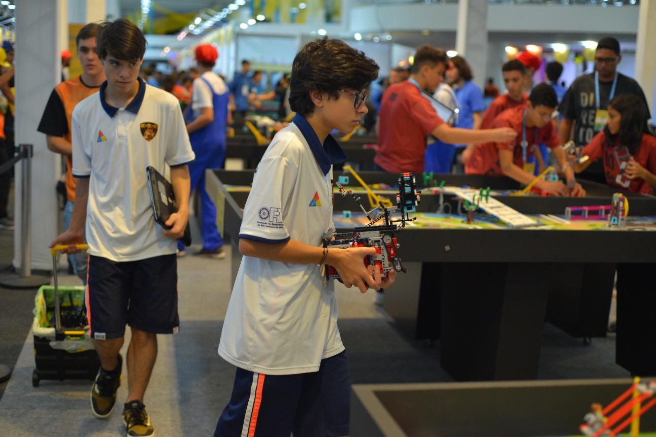 Equipes de 2 a 10 competidores podem se inscrever para os torneios regionais até 12 de março. Foto: Claudio Freitas