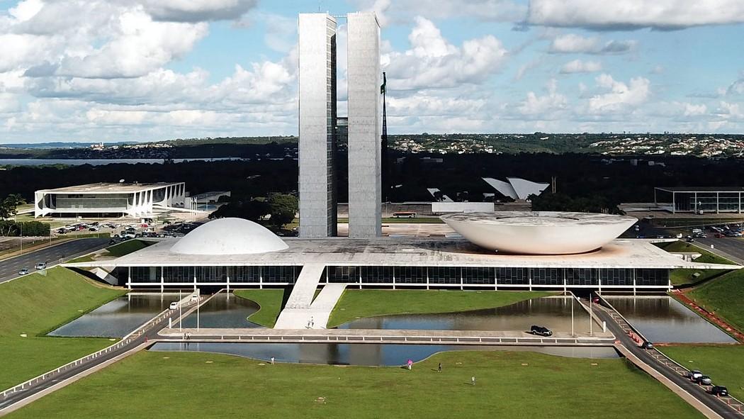 Congresso Nacional e Praça dos Três Poderes
