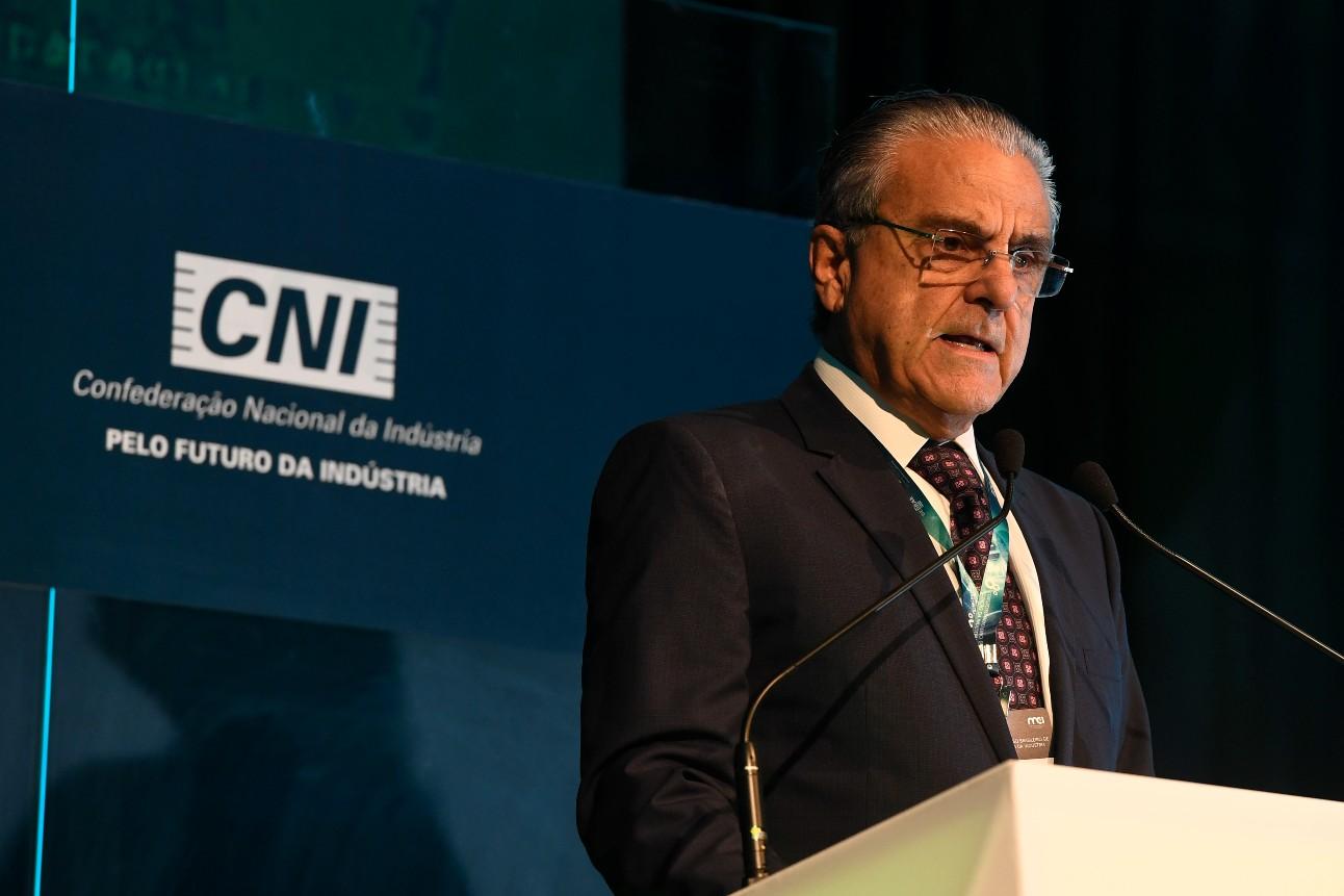 Presidente da CNI, Robson Braga de Andrade