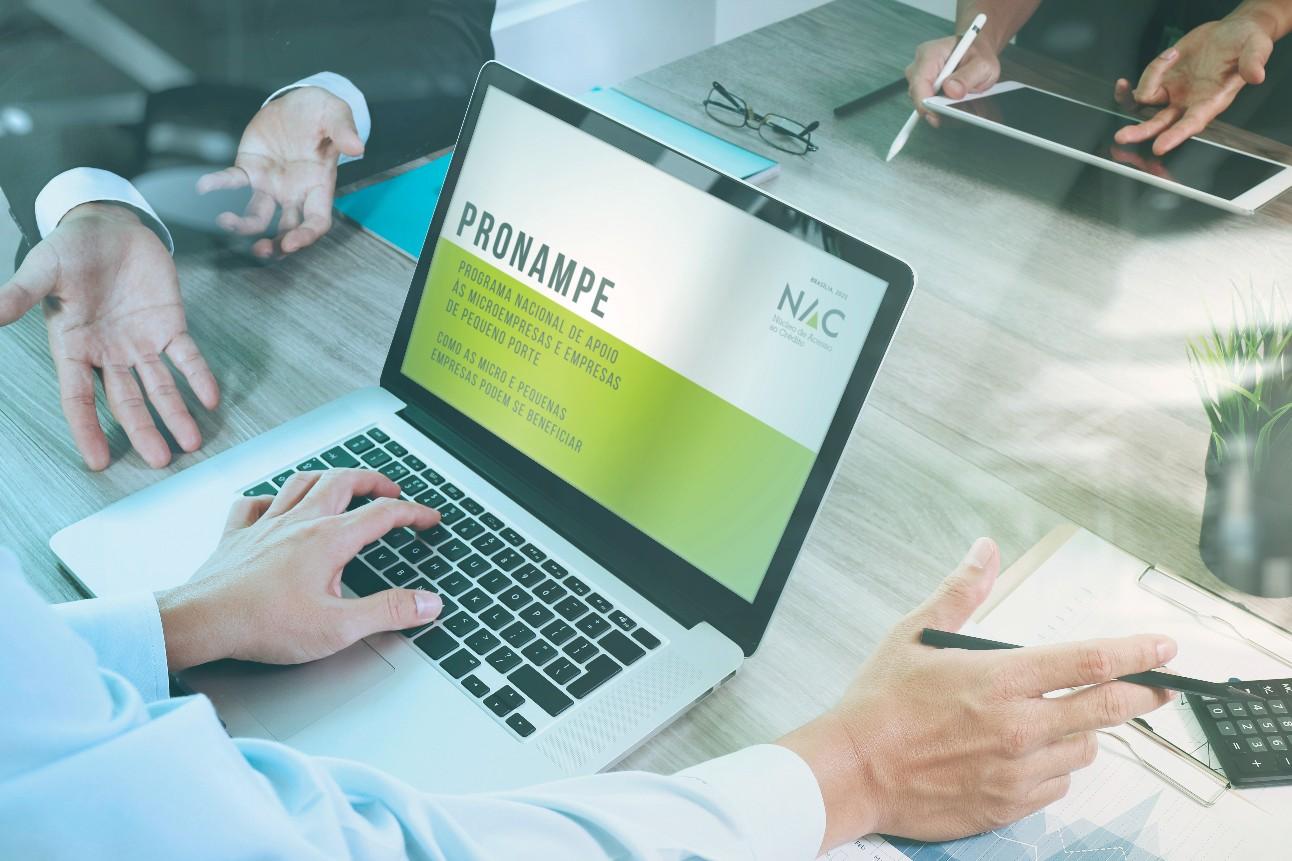 O documento traz informações sobre o perfil das pessoas jurídicas que podem participar, taxa de juros, garantias, finalidade e prazos do financiamento