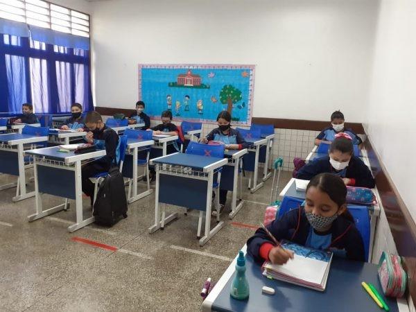FOTO: estudando ensino fundamental