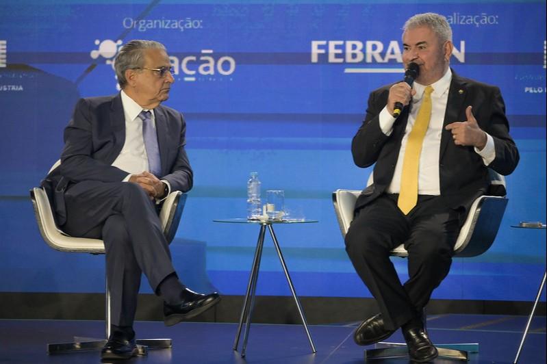 Robson Andrade, da CNI, e senador Ângelo Coronel querem melhorias no projeto de reforma do IR