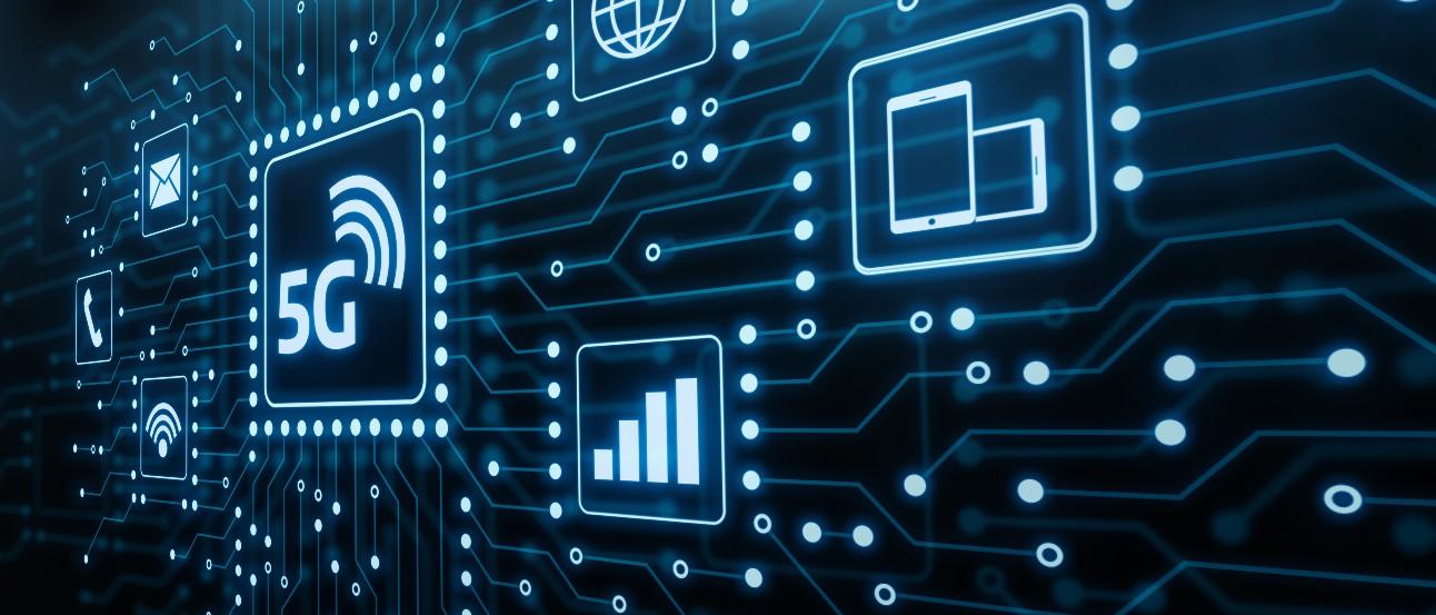 5G Rede Internet Mobile Wireless conceito de negócios